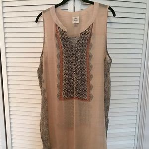 Knox Rose Tunic length High Lo Top XL